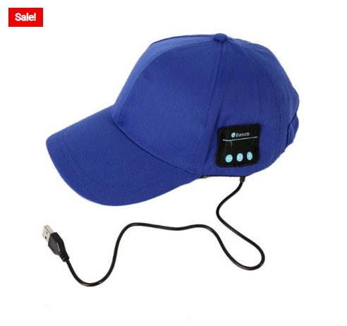 Best Equipment: Bluetooth Baseball Cap With Music Earphone